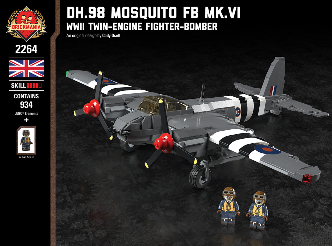 DH.98 Mosquito FB MK.VI - WWII Twin-Engine Fighter-Bomber