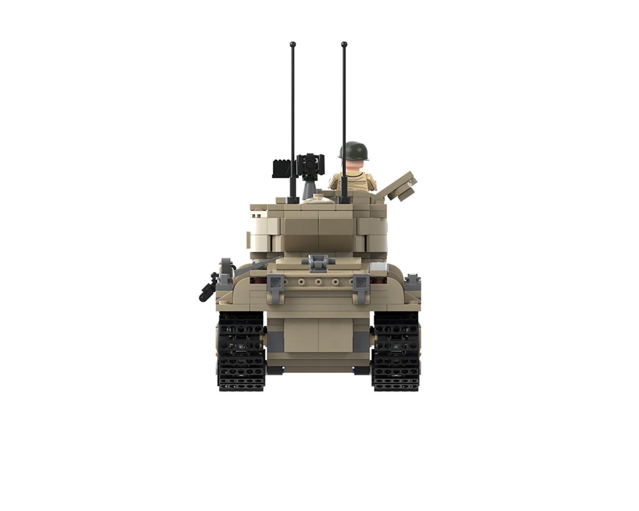 M51 Super Sherman - Main Battle Tank