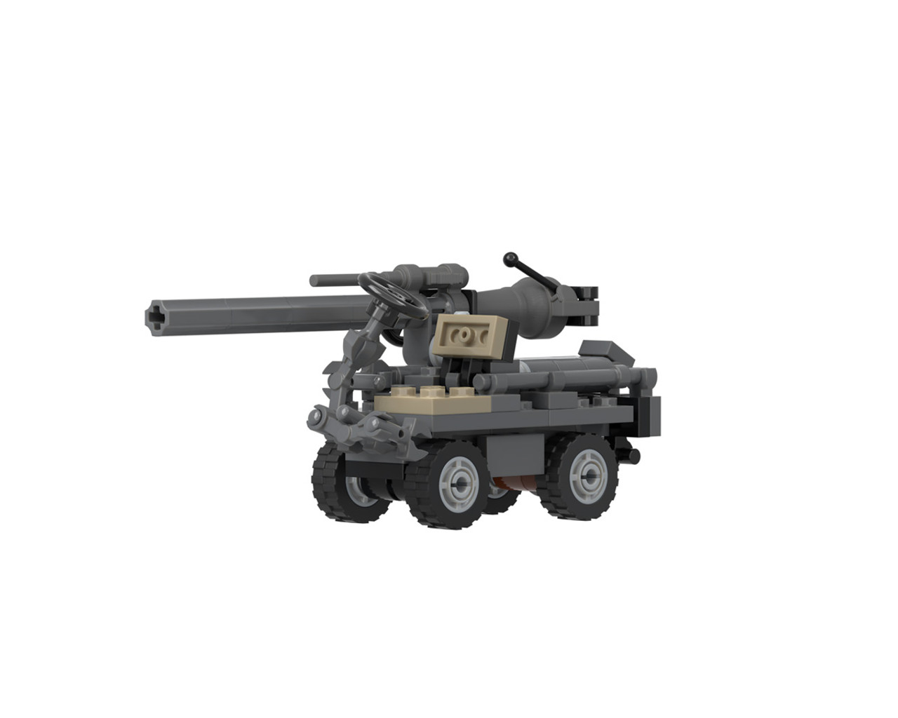 M274 Mule - 1/2 Ton Utility Truck with M40 Recoilless Rifle