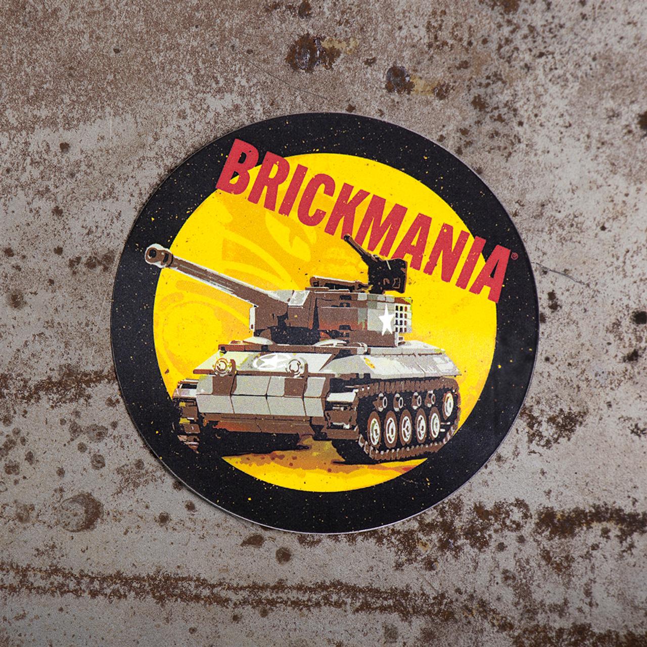 Brickmania Hellcat Sticker