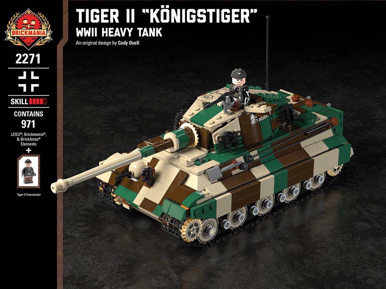 """Tiger II """"Königstiger"""" - WWII Heavy Tank"""