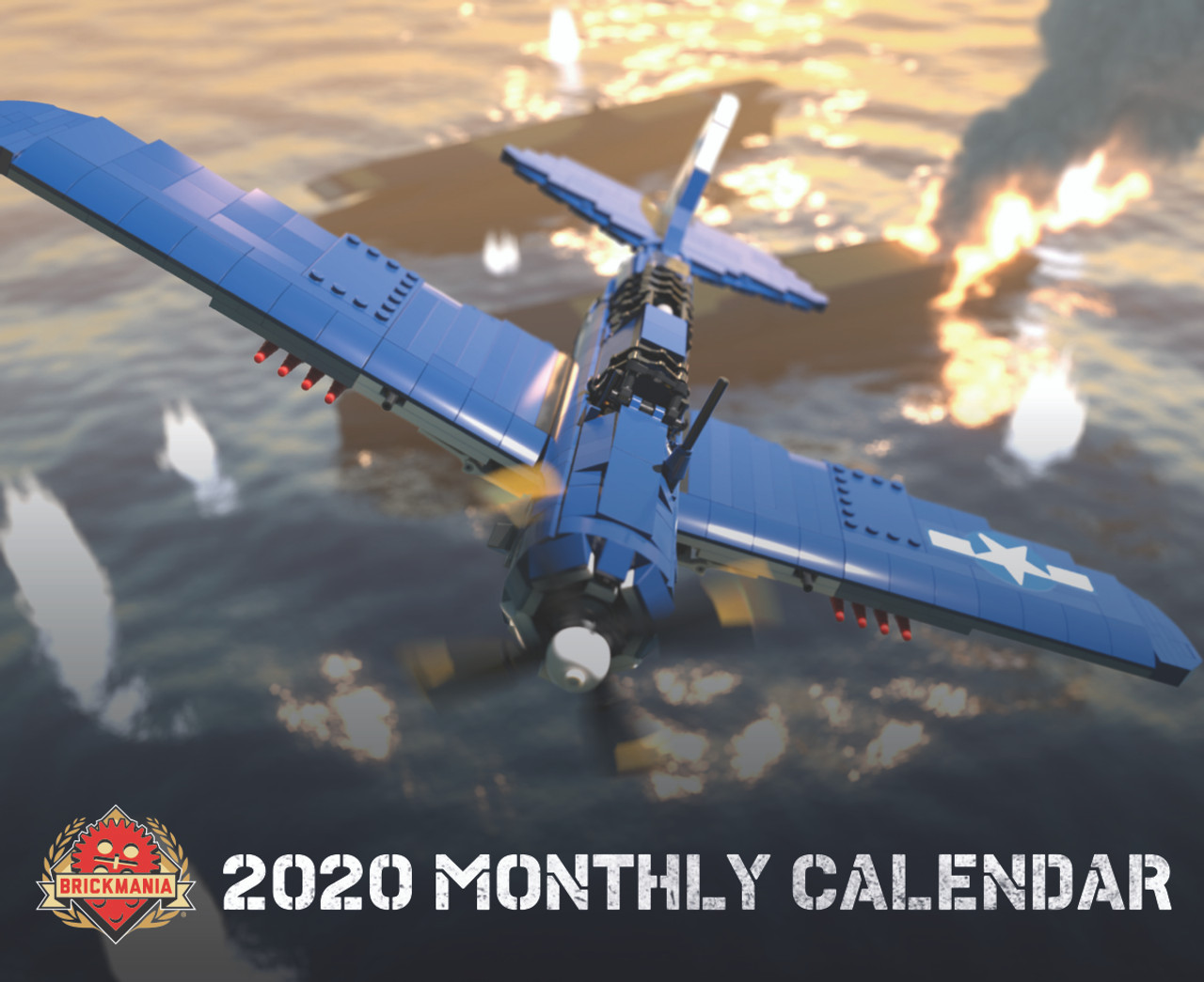 Brickmania 2020 Monthly Calendar