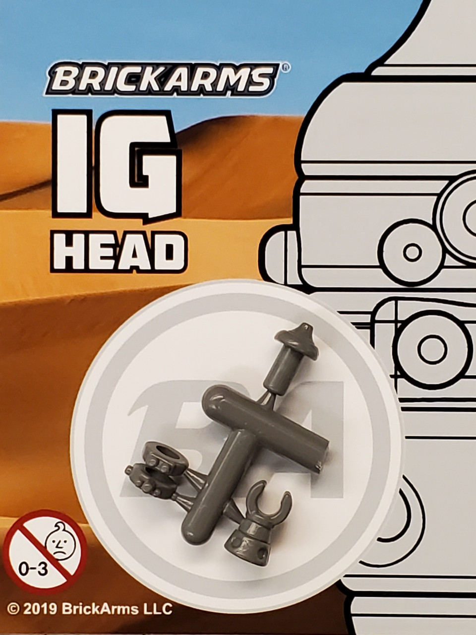 BrickArms IG Head (4 piece)