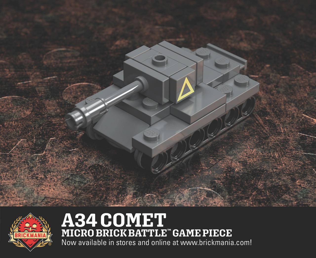 A34 Comet - Micro Brick Battle Game Piece