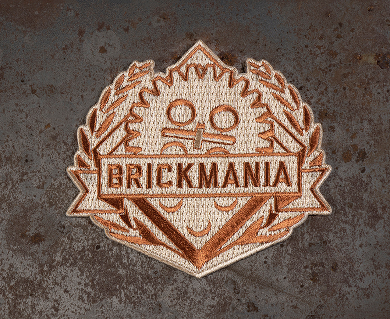 Brickmania Subdued Logo Patch