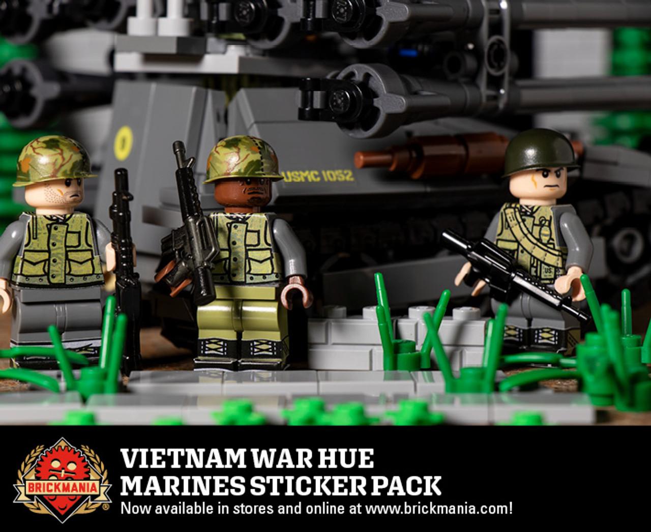 Vietnam War Hue Marines Sticker Pack