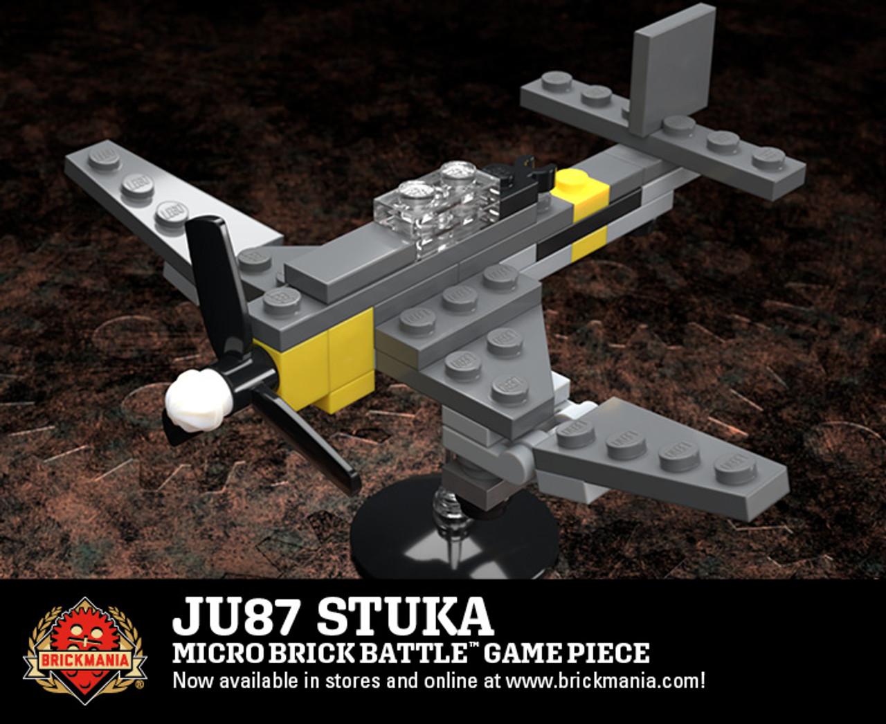 Ju 87 Stuka - Micro Brick Battle Game Piece