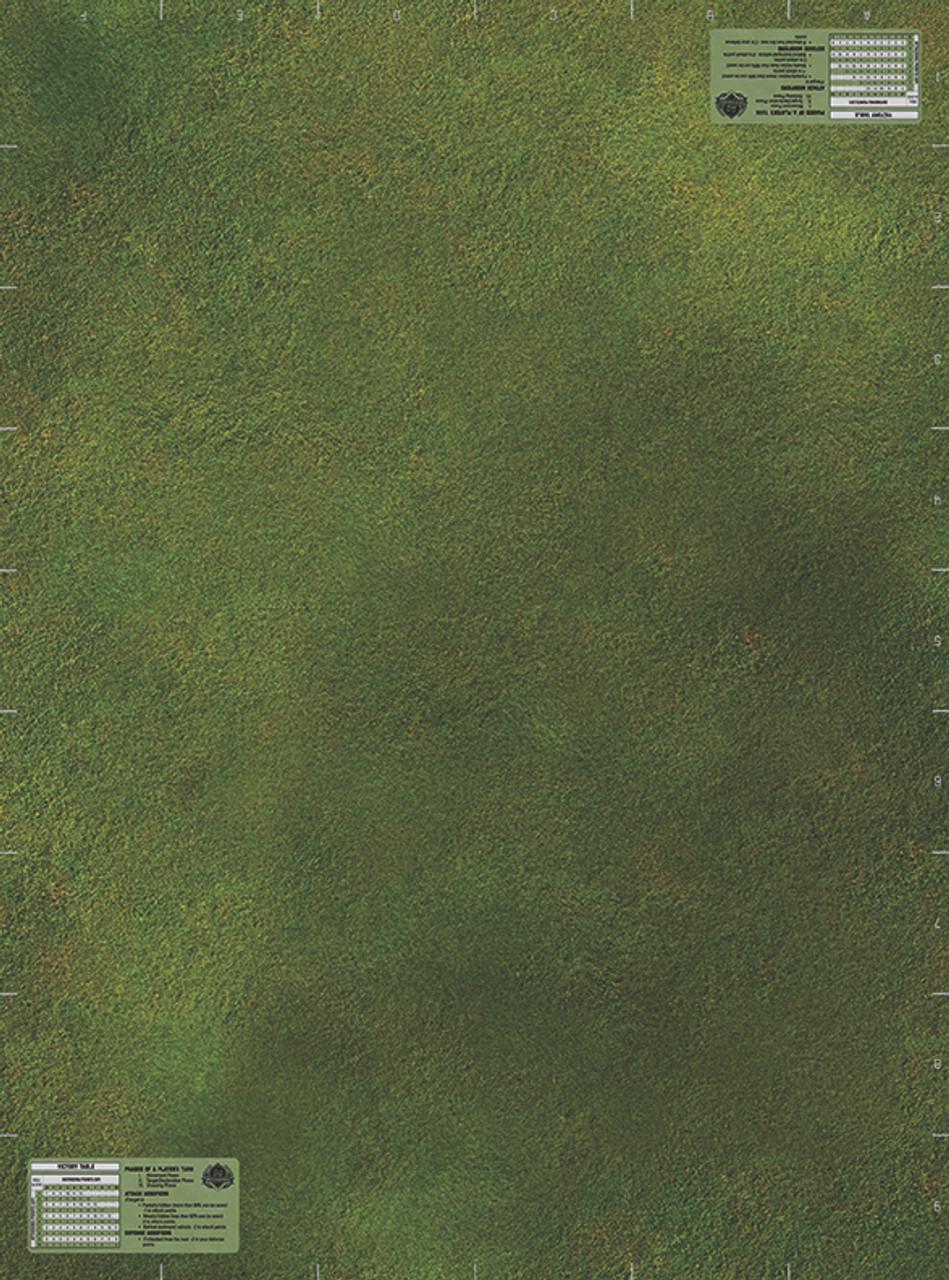 Micro Brick Battle - Green Fields Battle Mat
