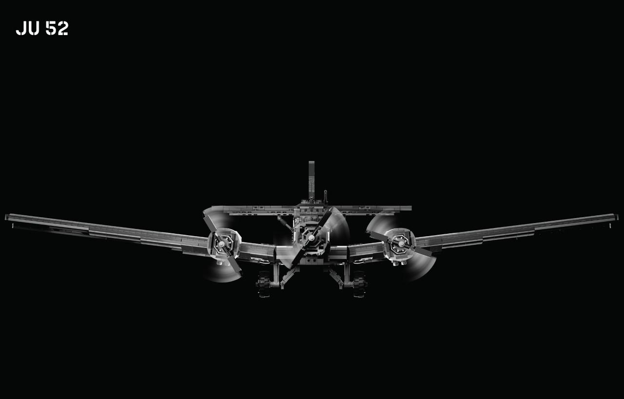 Ju 52 - Military Transport Aircraft