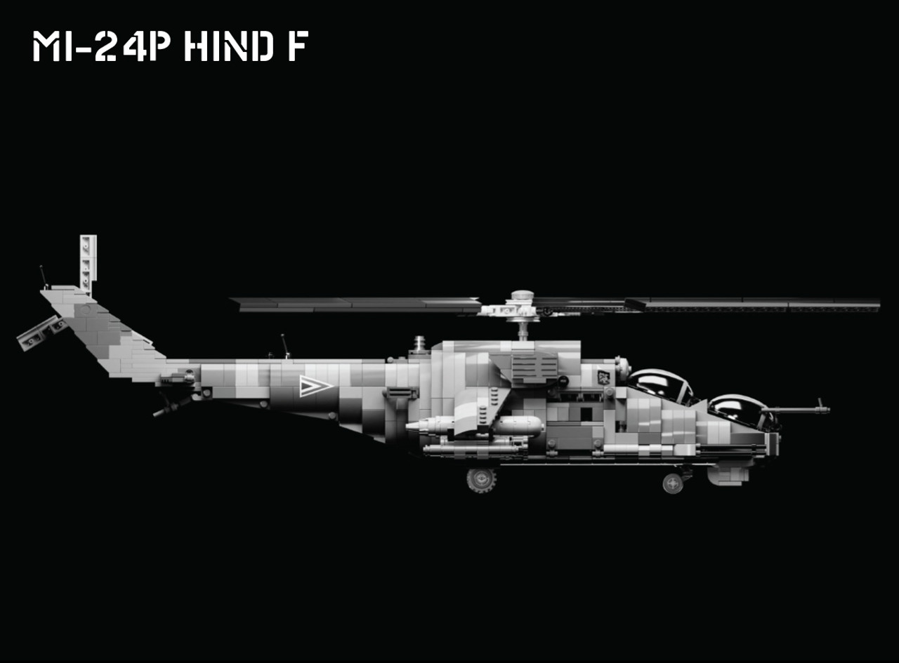 Mi-24P Hind F - Attack Helicopter