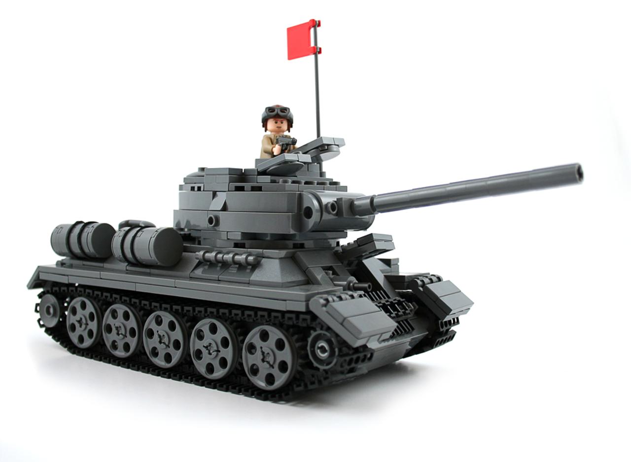 T-34/85 - Premium Building Kit