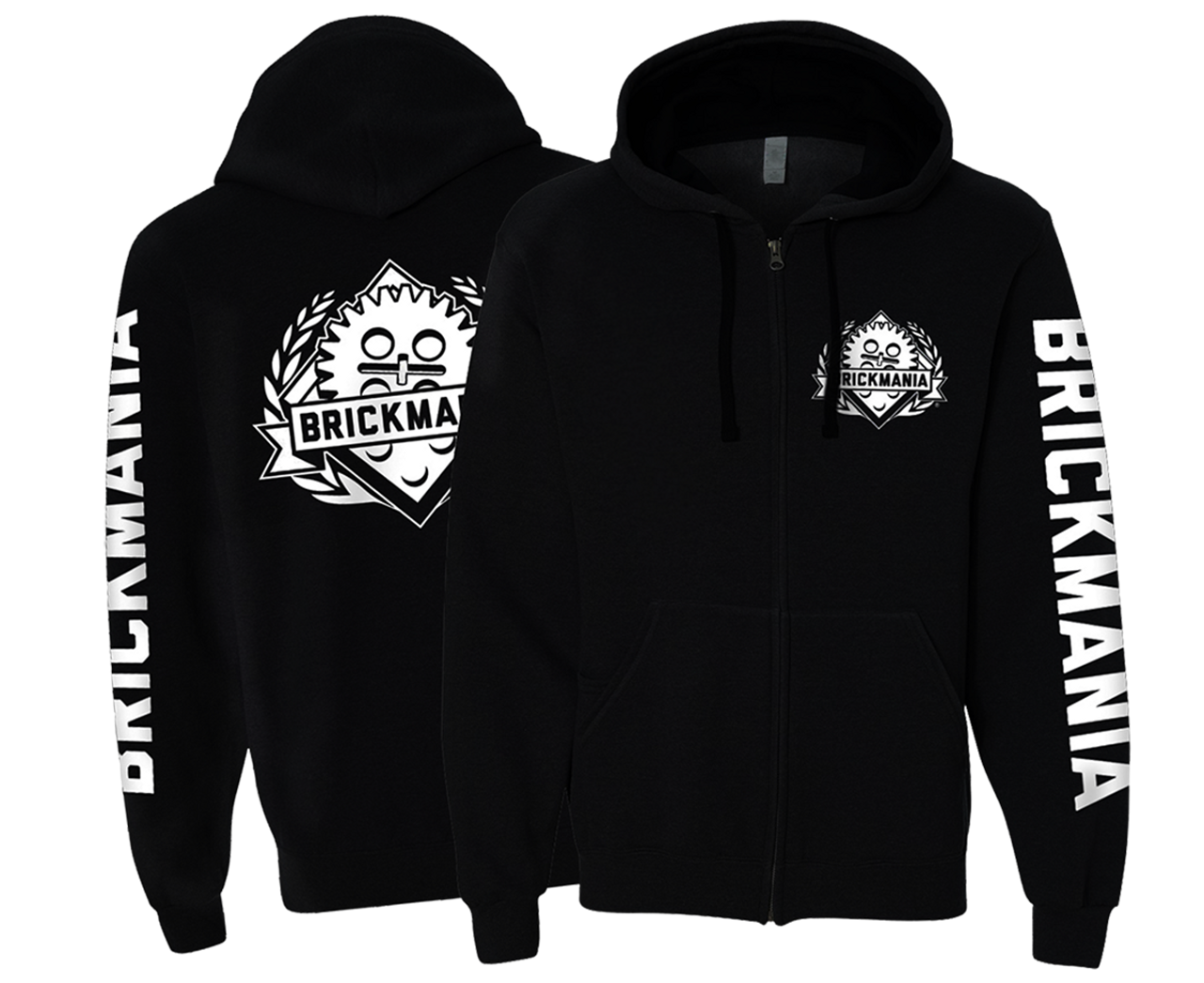 Brickmania 2020 Hoodie (Zipper)