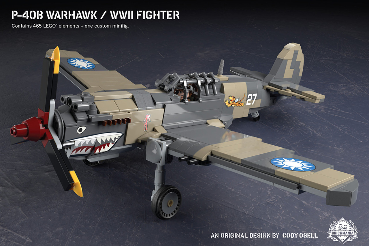 P-40B Warhawk - WWII Fighter