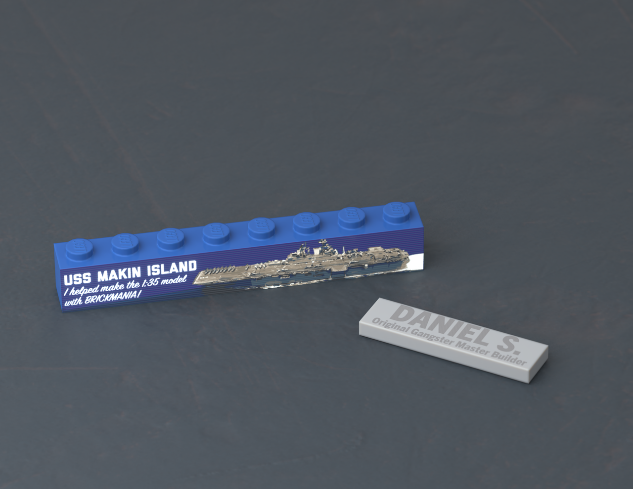 USS Makin Island Build - Plank Owner -  Level E-7 (Chief Petty Officer)