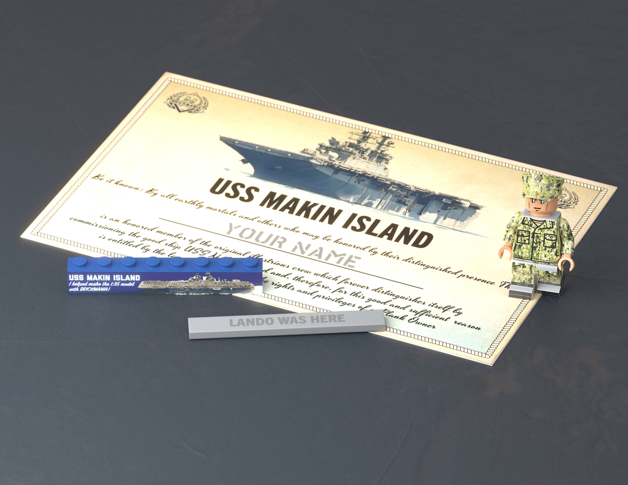 USS Makin Island Build - Plank Owner -  Level 0-6 (Captain)