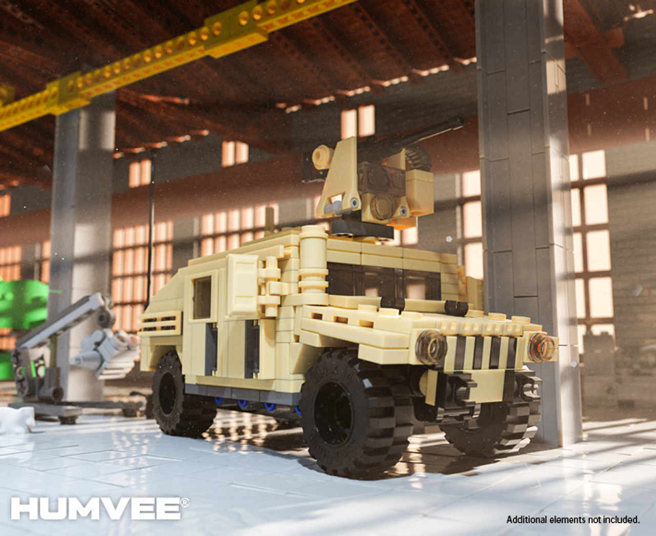 M1151A1 HUMVEE® - Enhanced Weapon Carrier with CROWS