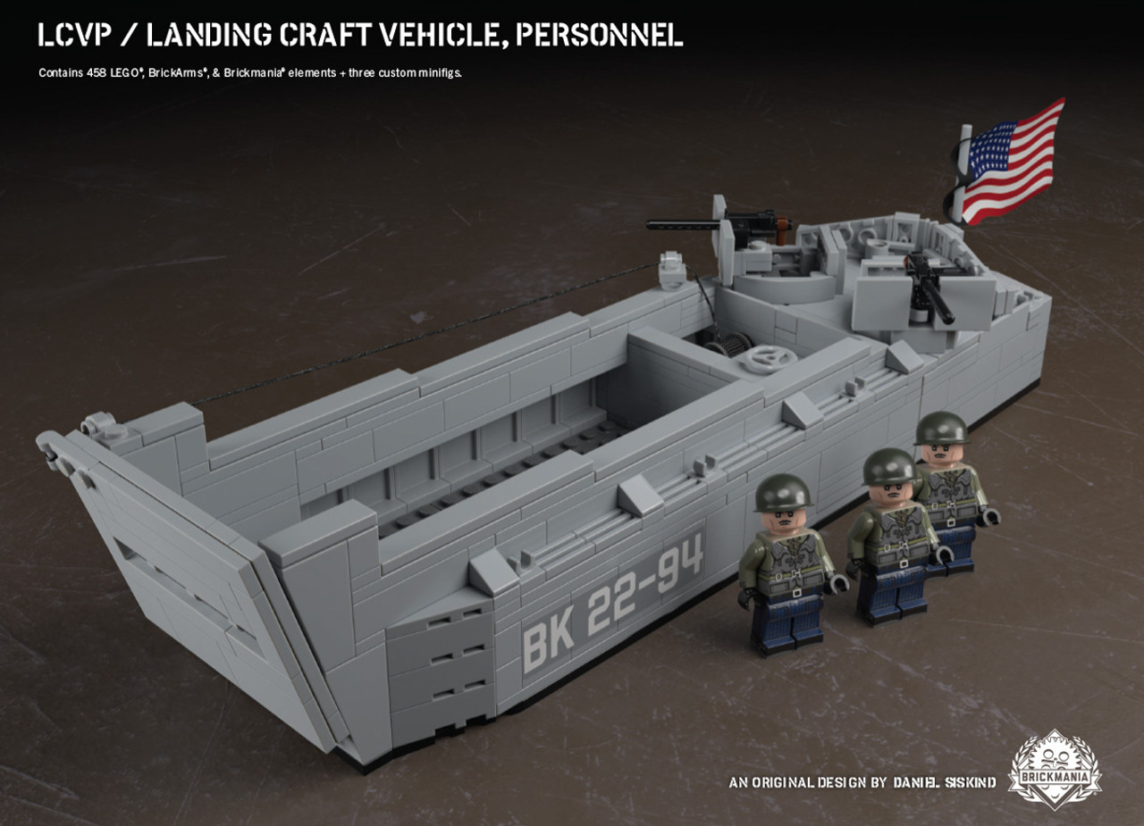 LCVP - Landing Craft Vehicle Personnel