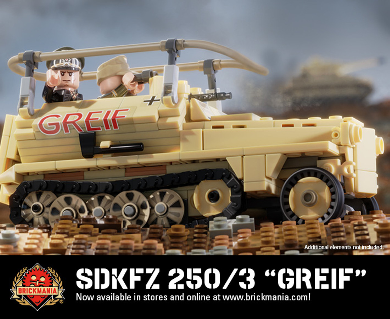 "SdKfz 250/3 ""Greif"" - Light Radio Armored Car"