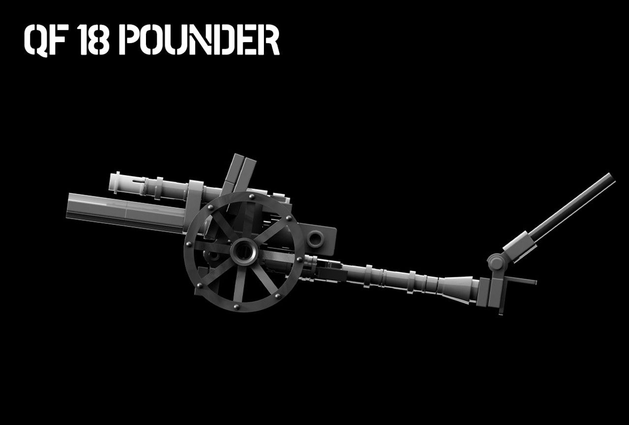 QF 18 Pounder - World War I Field Gun