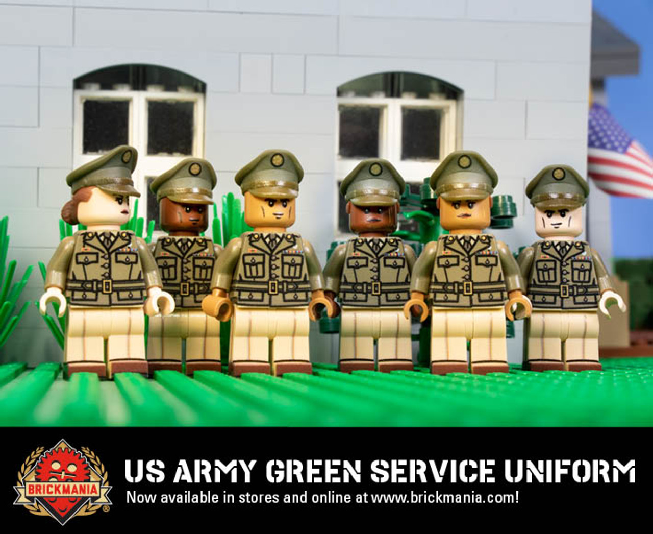 US Army Green Service Uniform