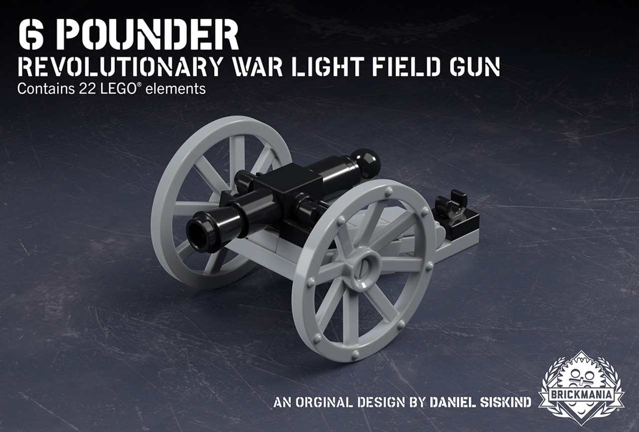 6-Pounder - Revolutionary War Light Field Gun