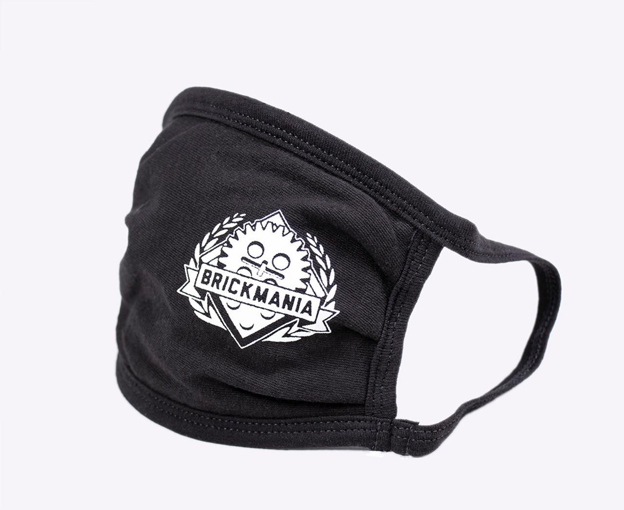 Brickmania Face Mask - White Logo