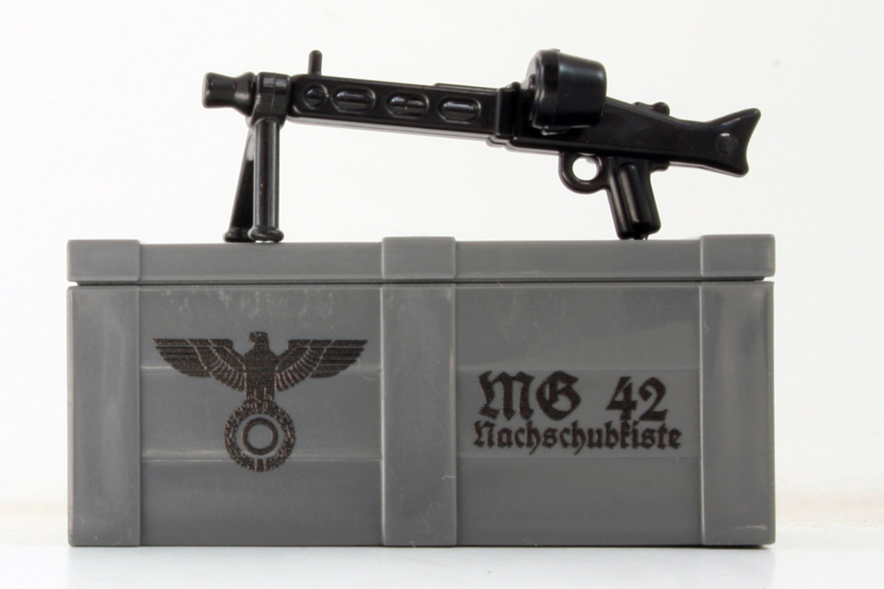 BrickArms® MG42 and Printed Crate