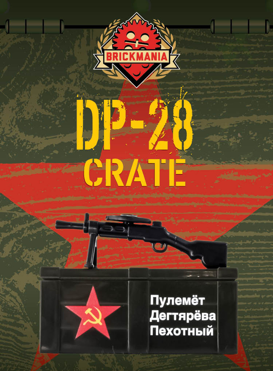 DP-28 and Printed Crate