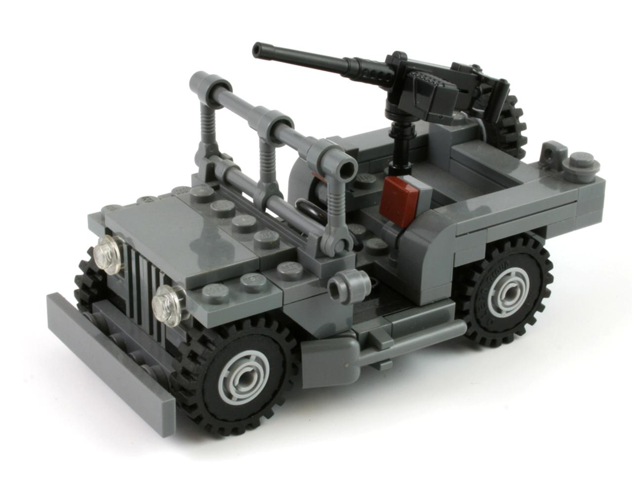 Durabuilder Jeep with M2HB