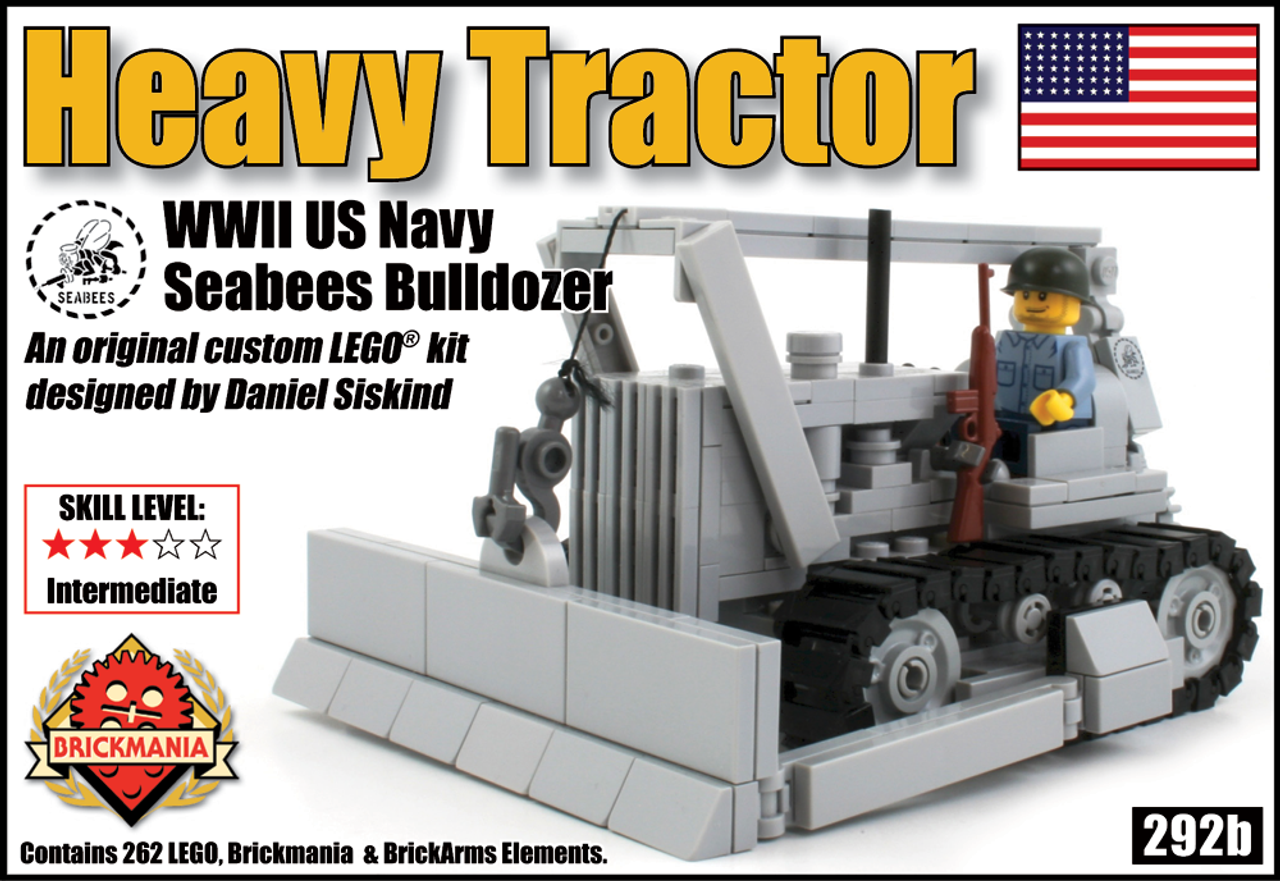 Heavy Tractor: World War II US Navy Bulldozer (V.2)
