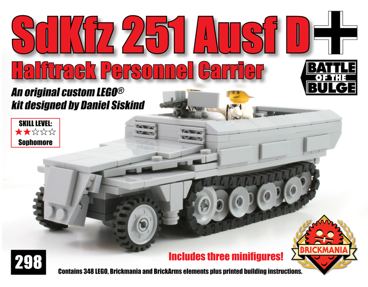SdKfz 251 Ausf D Halftrack Personnel Carrier