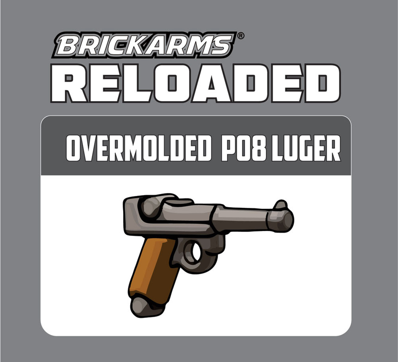 BrickArms Reloaded Overmolded P08 Luger