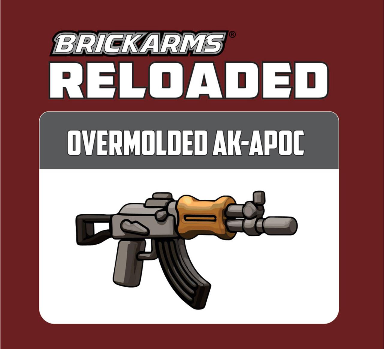BrickArms AK-APOC Rifle for Minifigures Soldier Military