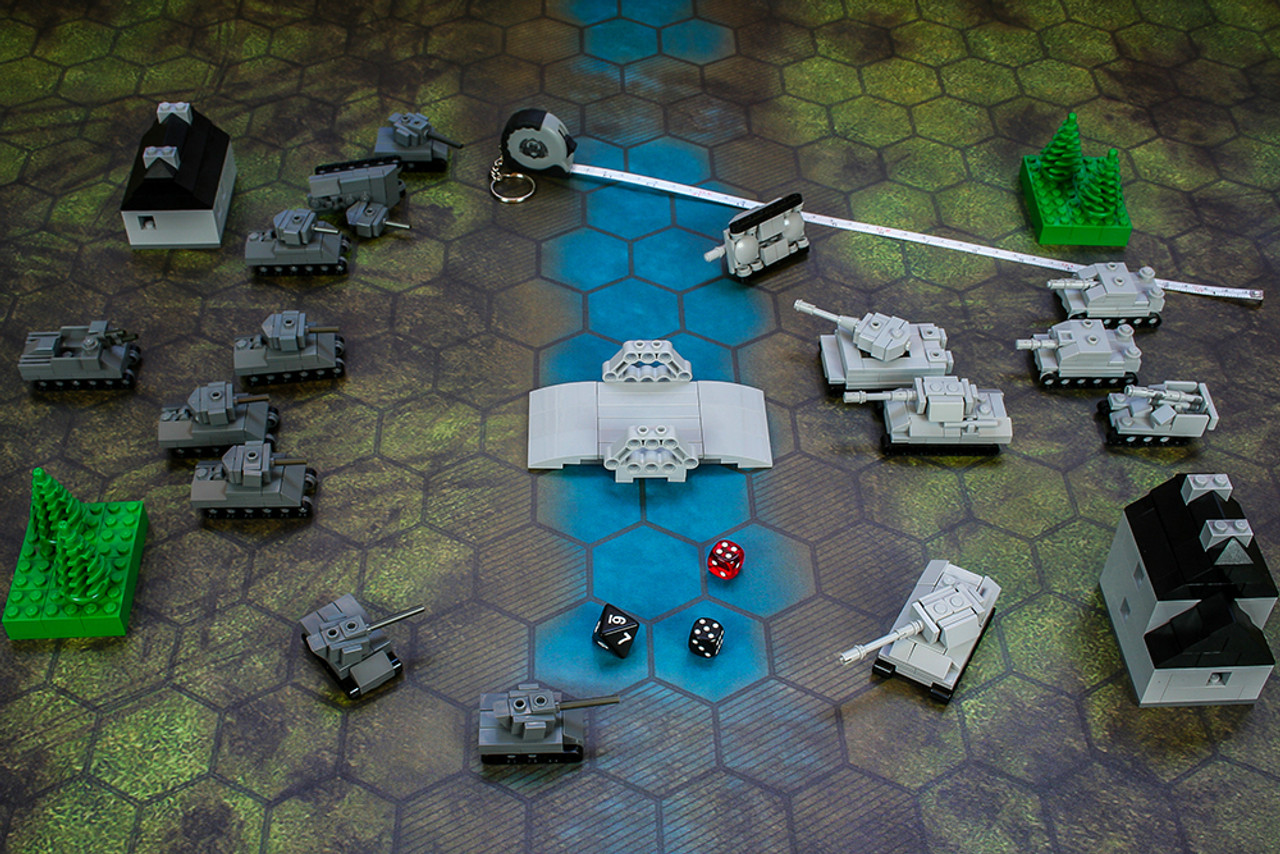 Micro Tank Battle Tabletop Game - Deluxe Starter Pack