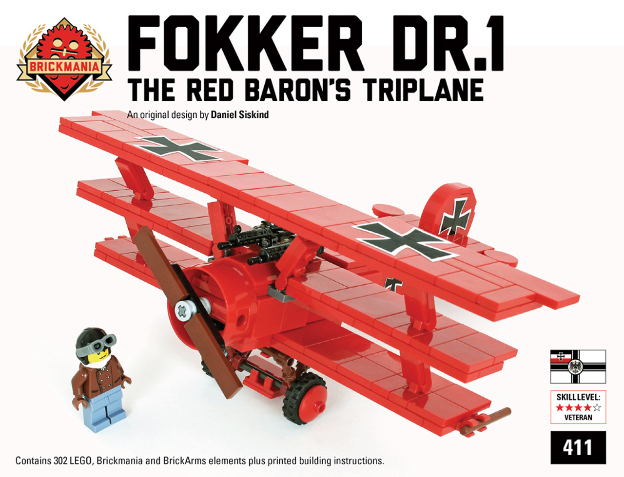 Fokker Dr.1 - Special Red Baron Edition Black Box + Sopwith Camel