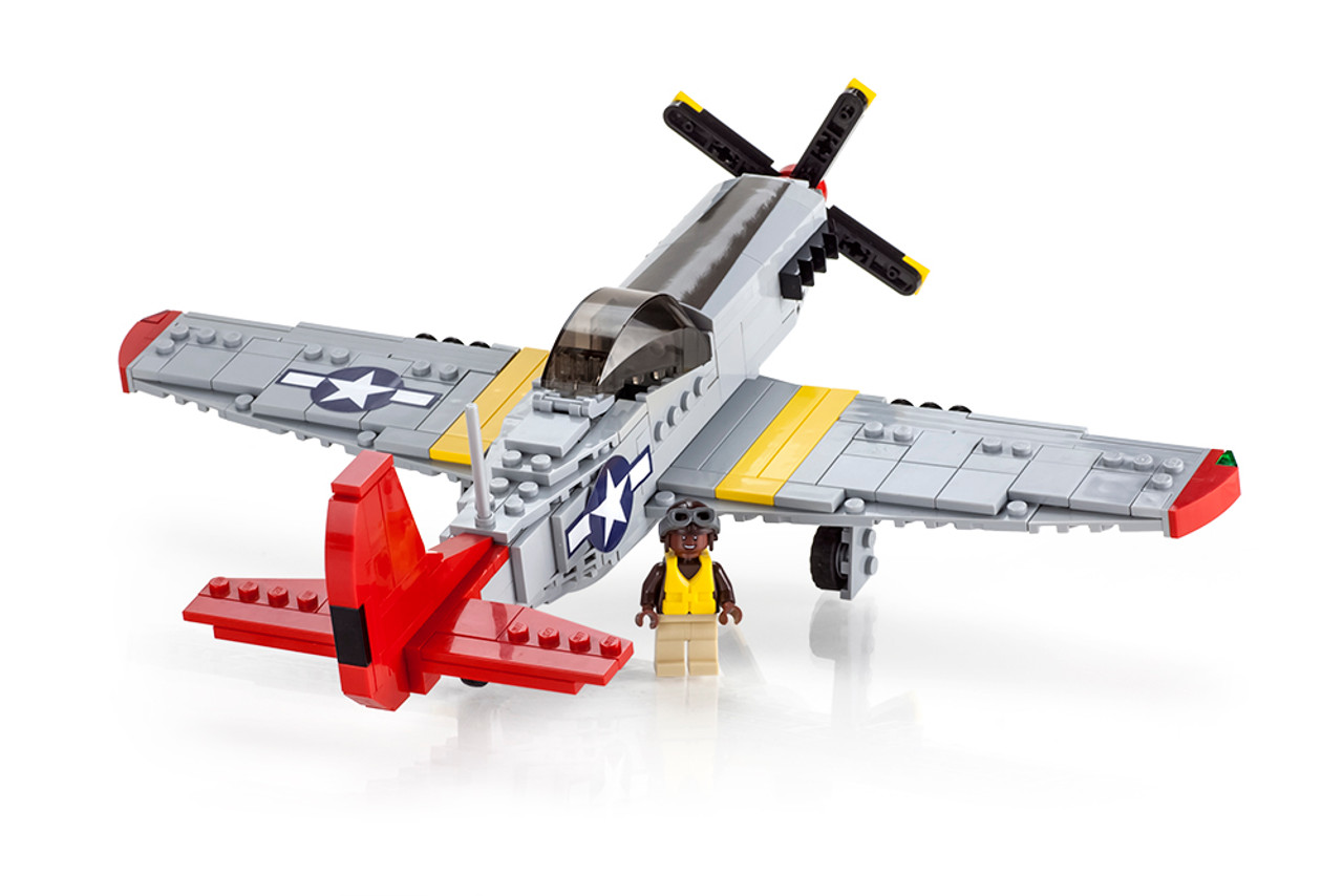 "P-51D ""Red Tail"" Mustang - American Fighter"