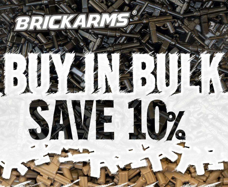 Save 10% on Bulk BrickArms