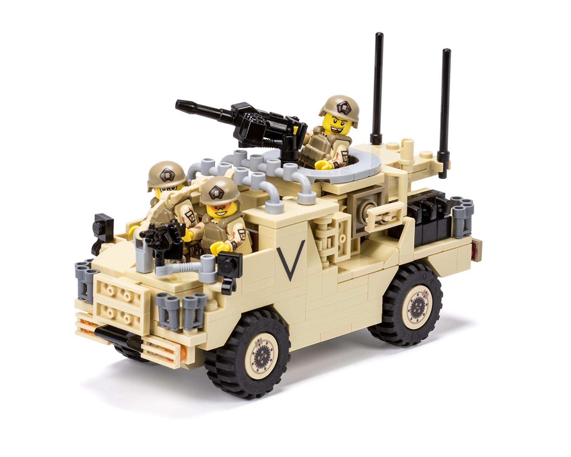 Mwmik Jackal Rapid Assault Vehicle Brickmania Toys