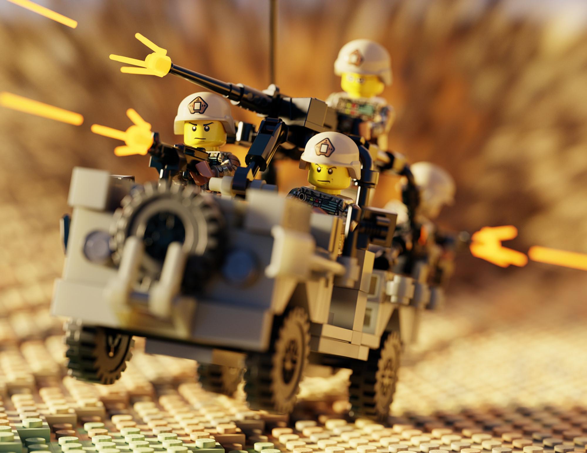 Rsov Ranger Special Operations Vehicle Brickmania Toys