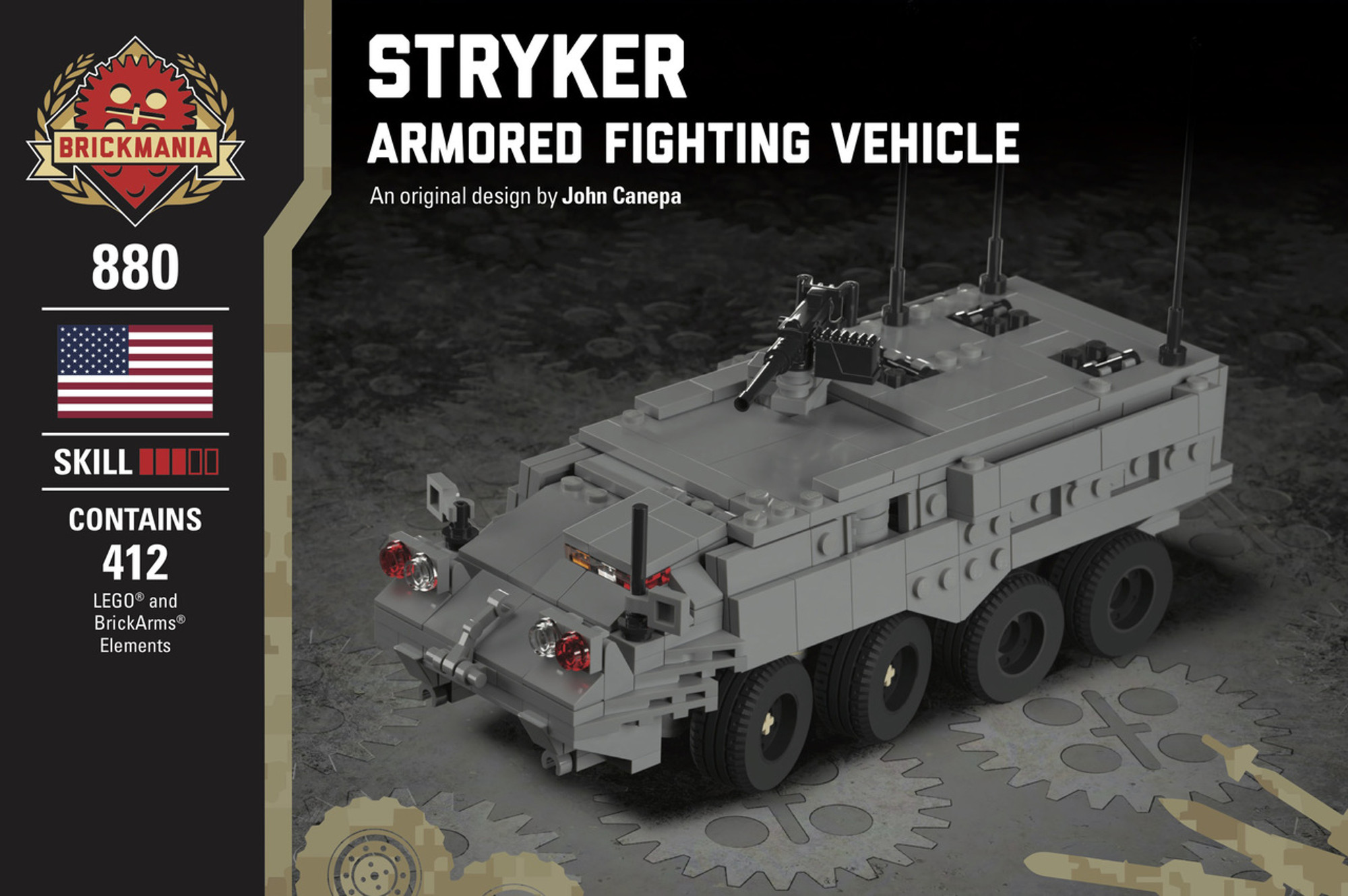 Stryker Armored Fighting Vehicle Brickmania Toys