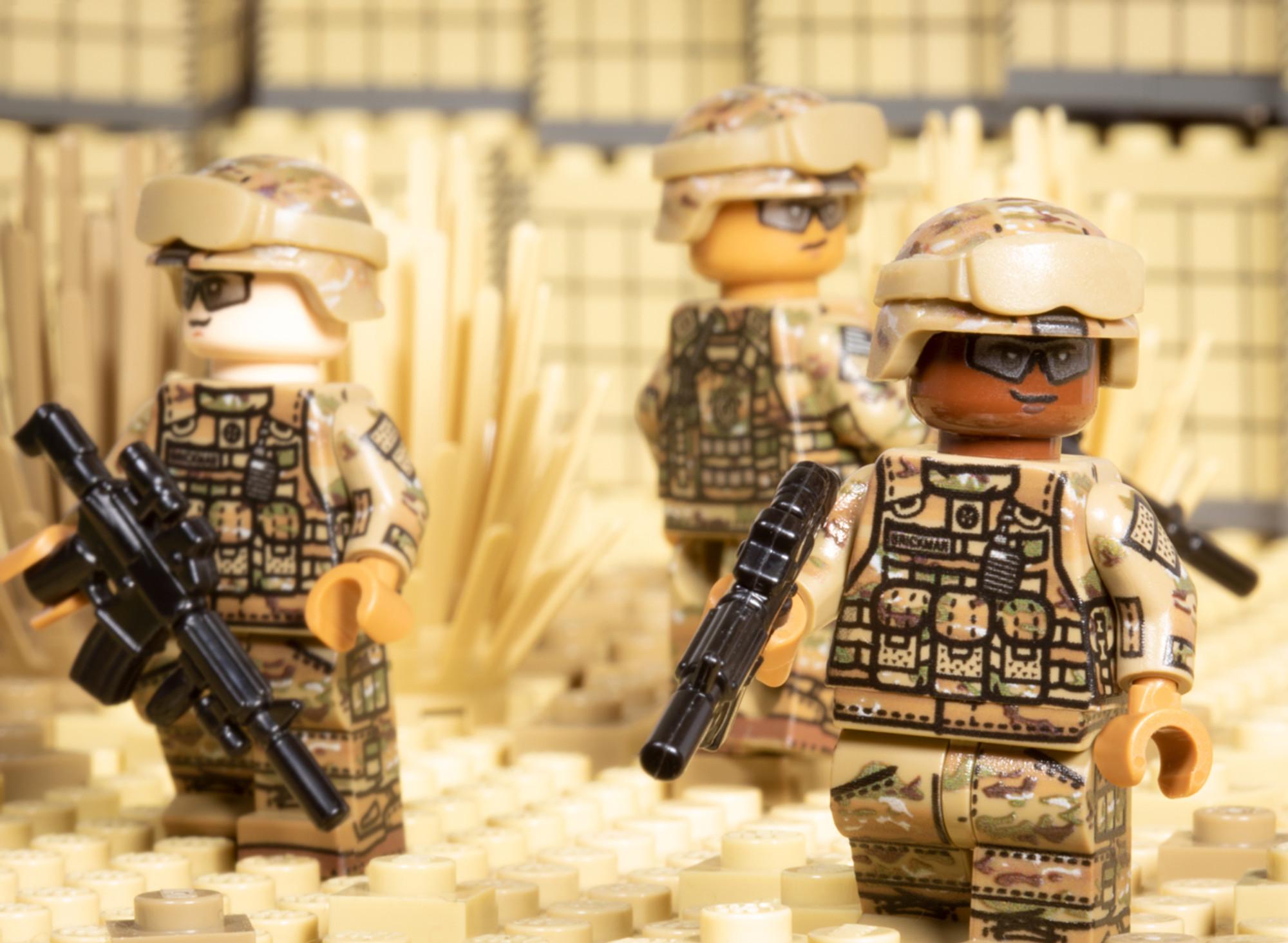 Modern Us Army Rifleman Brickmania Toys