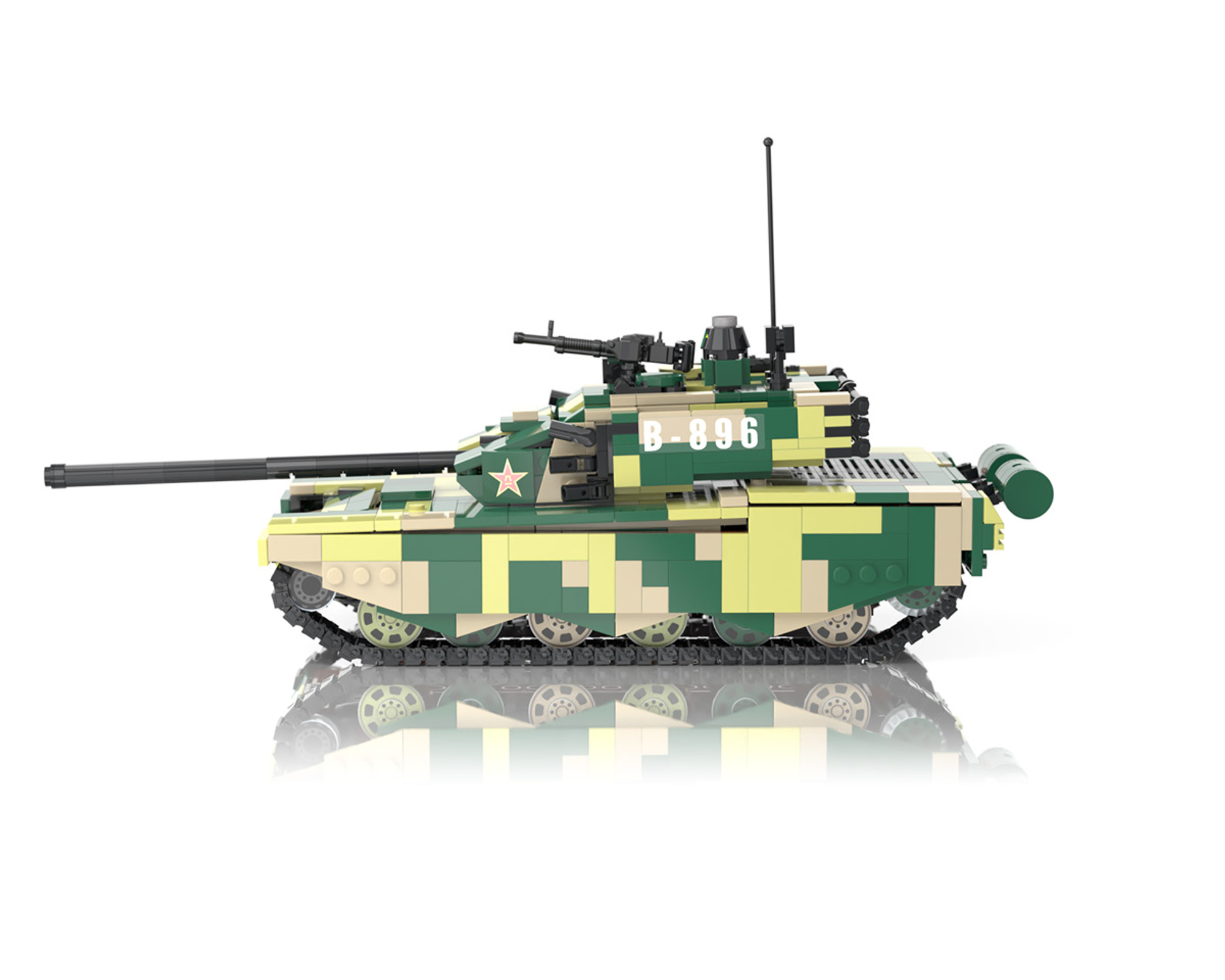 Details about  /1//50 99A Main Battle Tank Aromred Car Metal Vehicle Static KIT Collection Model