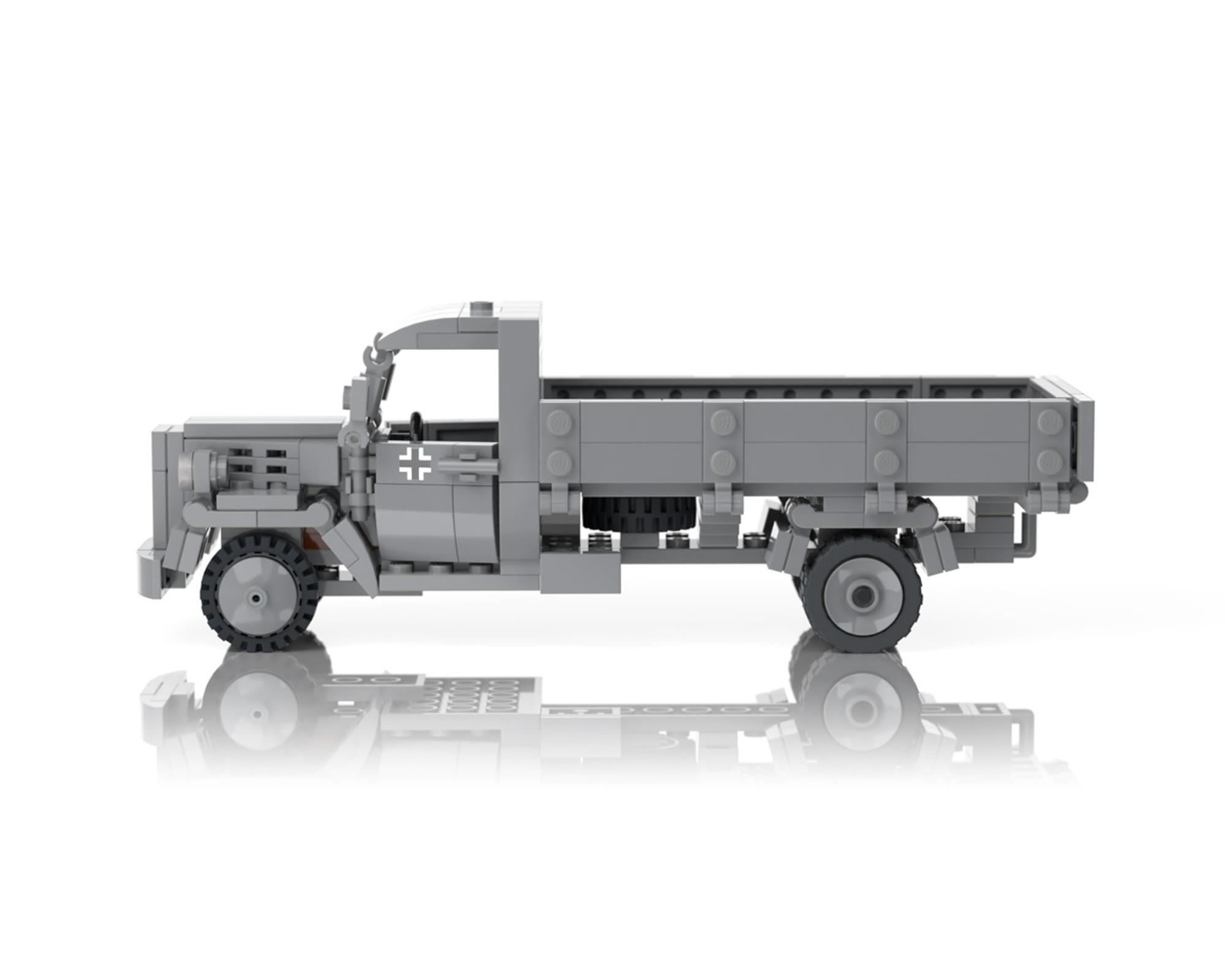 Opel Blitz Lightweight Truck Brickmania Toys
