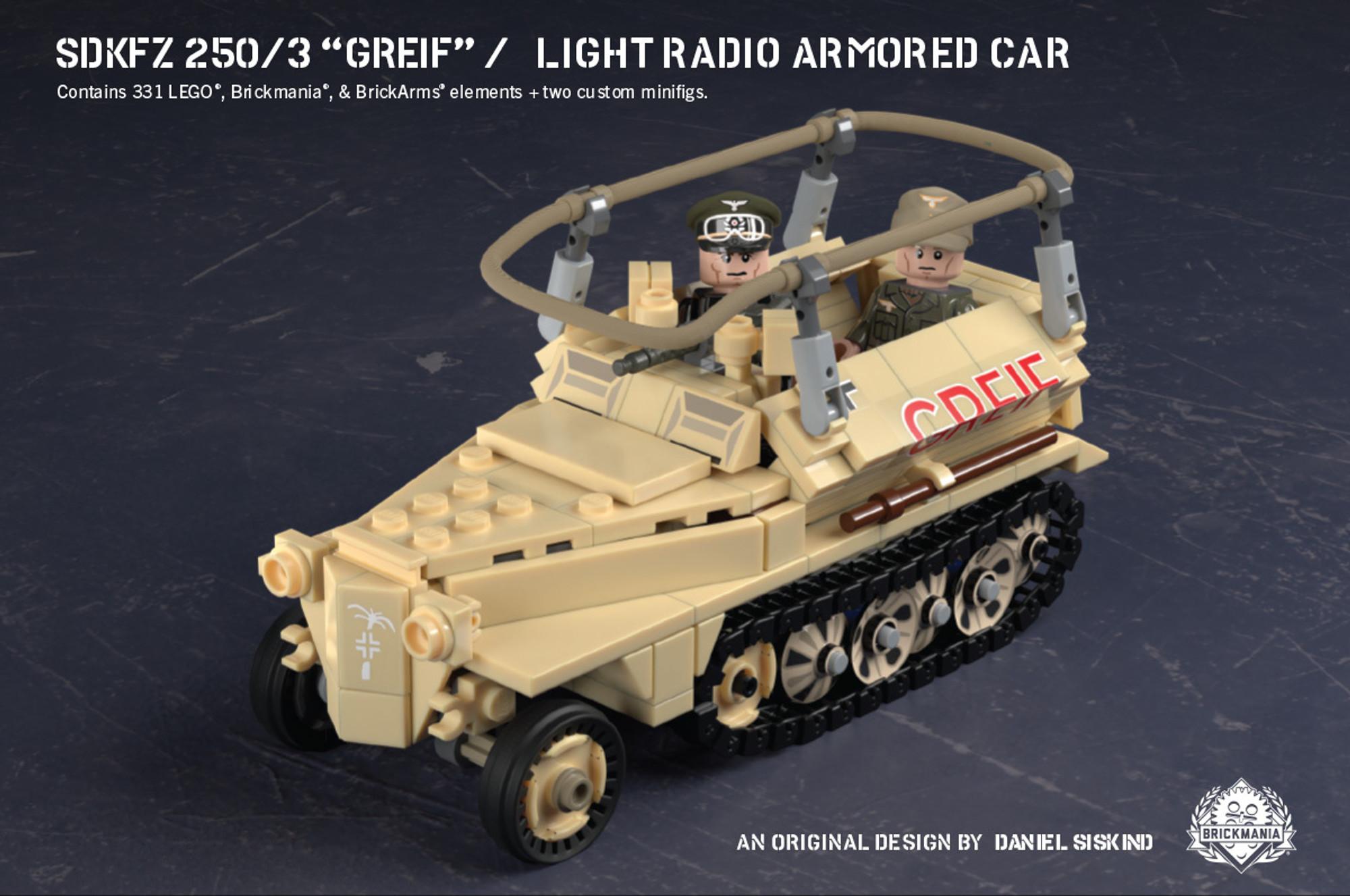 Sdkfz 250 3 Greif Light Radio Armored Car
