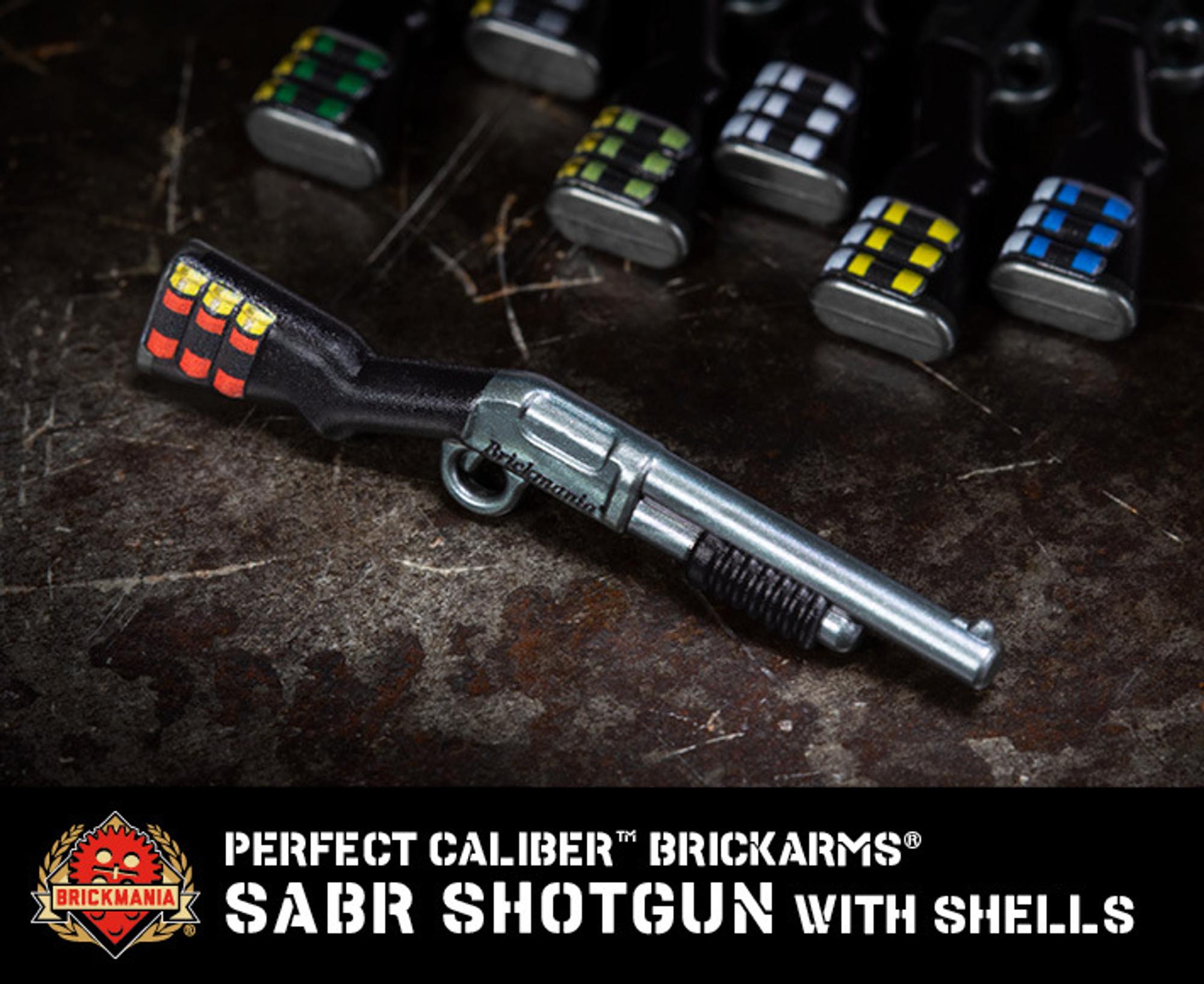 Perfect Caliber™ BrickArms® SABR Shotgun with Shells V2