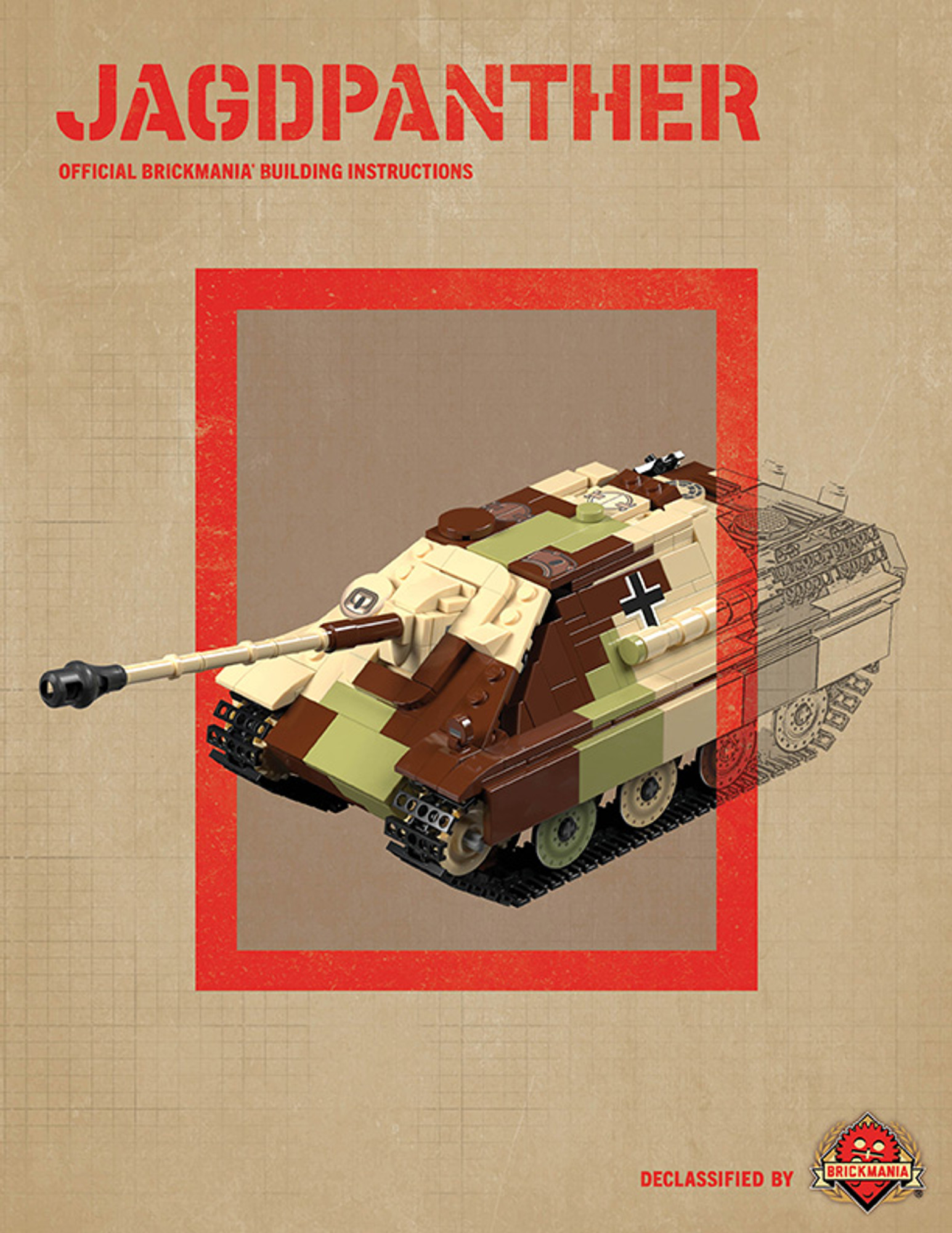 Jagdpanther - Digital Building Instructions - Digital Building Instructions