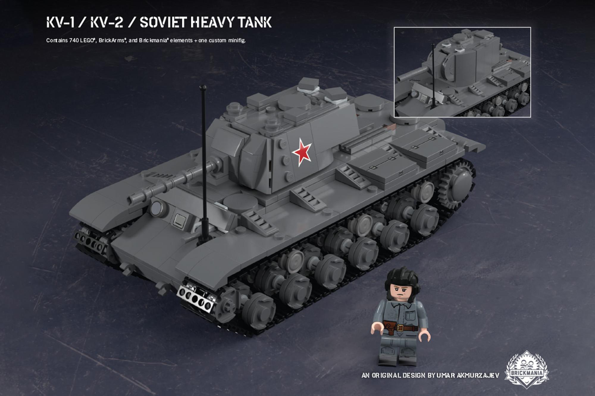 KV-1/KV-2 - Soviet Heavy Tank