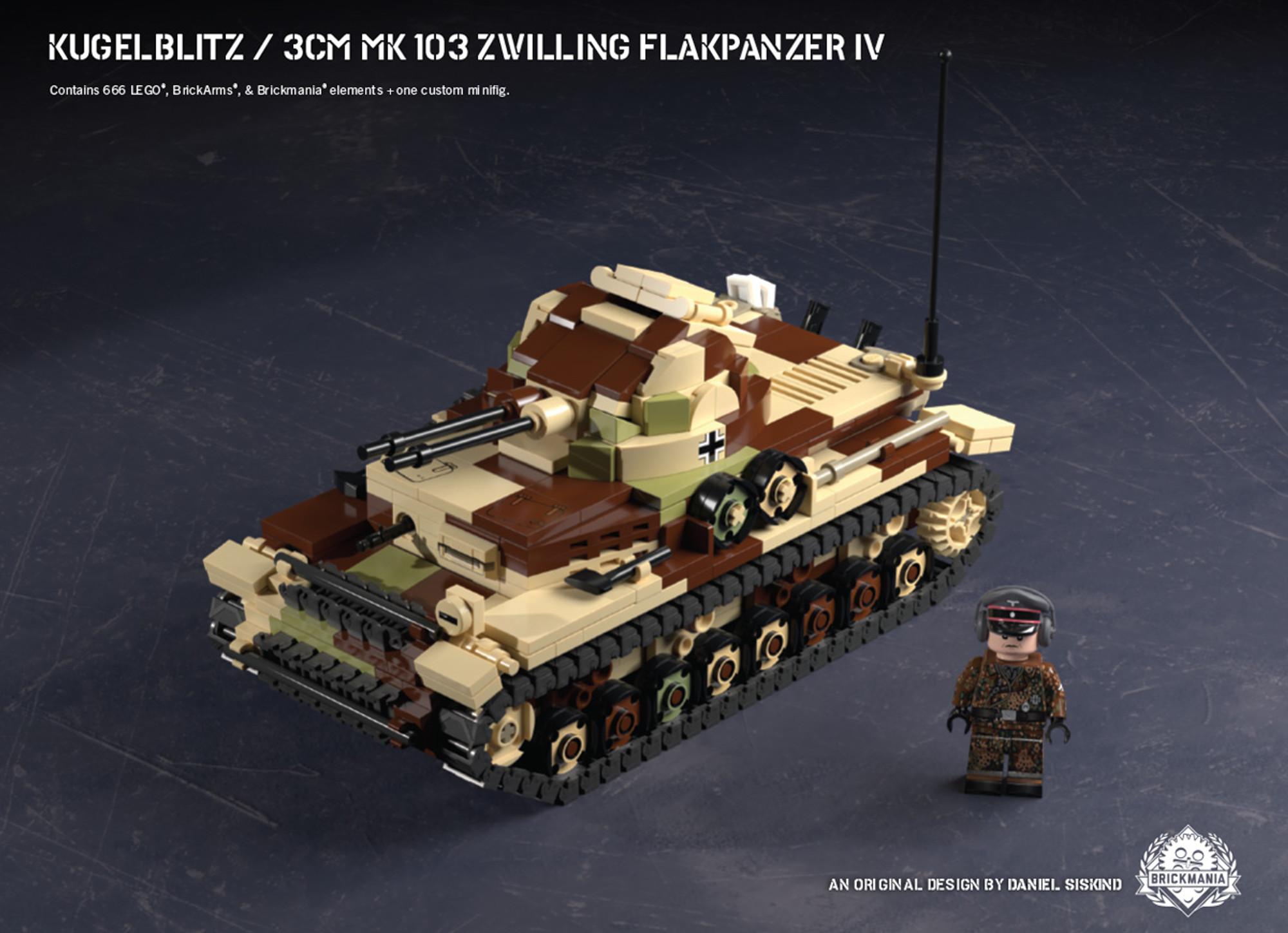 Kugelblitz – 3cm Mk 103 Zwilling Flakpanzer IV