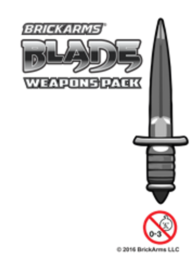 BrickArms® Blade Weapons Pack