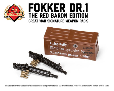 Fokker Dr 1 Signature Weapon Pack